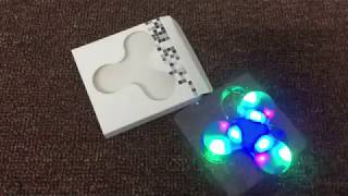 🔥🔥led finger spinner with bluetooth speaker  in aliexpress 🔥🔥