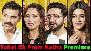 Kriti Sanon At Red Carpet Premiere Of Film Toilet Ek Prem Katha