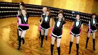 GIRLS` GENERATION  PAPARAZZI Music Video Dance Edit GOLD
