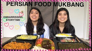 AUTHENTIC PERSIAN FOOD MUKBANG | STORYTIME