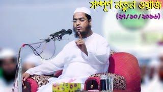 যার নতুন ওয়াজের জন্য লক্ষ্য কুটি ভক্ত পাগল হয়ে থাকে | Hafizur Rahman Siddiki Bangla Waz 2016 | New