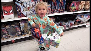 3 Year Old Tydus TOY REVIEWER!!