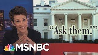Russia Payments Intensify Michael Flynn Scandal   Rachel Maddow   MSNBC