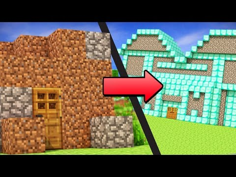 EASY ways to go from NOOB to PRO in Minecraft