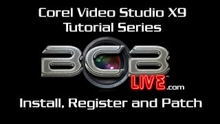 Installing and Patching #Corel Video Studio Pro X9 on #Windows10 #BCBLive