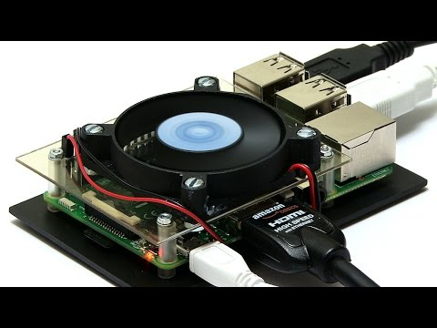 Raspberry Pi 3: Fan and Cooling Tests