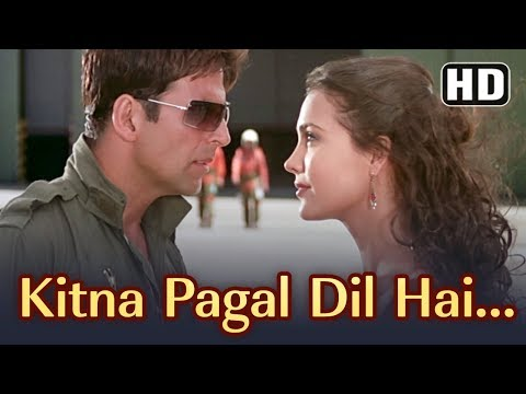 Xxx Mp4 Kitna Pagal Dil Hai Andaaz Songs Akshay Kumar Lara Dutta Kumar Sanu Love Song Filmigaane 3gp Sex