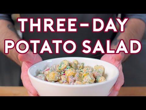 Binging with Babish 3 Day Potato Salad from SpongeBob SquarePants