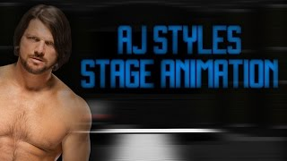 WWE Stage Animation | AJ Styles
