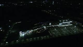 Parrot Bebop 2 - Eaon 2 on the night view