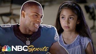 10 Year Old Stumps NFL Stars