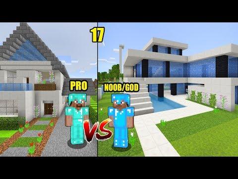 MINECRAFT PRO VS NOOB GOD parte 17