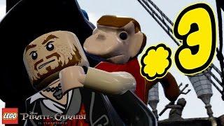 LEGO Pirati dei Caraibi Gameplay ITA Walkthrough #3 - La Perla Nera La Maledizione della Prima Luna
