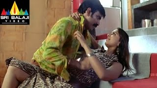 Vikramarkudu Movie Anushka Ravi Teja Romantic Scene | Ravi Teja, Anushka | Sri Balaji Video
