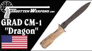 The Most Ornate Knife-Gun You Will Ever See: CM-1