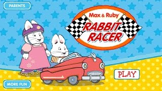 Max & Ruby: Rabbit Racer - App Gameplay