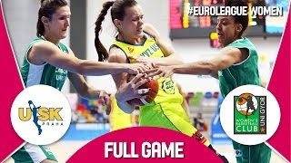ZVVZ USK Praha (CZE) v Uni Györ (HUN) - Full Game - EuroLeague Women 2016/17