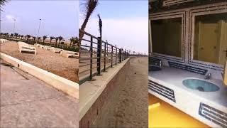 شاطئ بيش بمنطقة جازان تنفيذ أرامكو