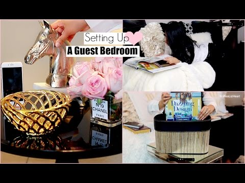 15 Ways To Create the Perfect Guest Bedroom  - MissLizHeart