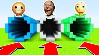 DO NOT CHOOSE THE WRONG TUNNEL(BALDI, GRANNY, KICK THE BUDDY) (Ps3/Xbox360/PS4/XboxOne/PE/MCPE)