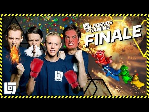 FINALE LEGENDS OF GAMING 2016 2017 XL GANG BEASTS LOGNL