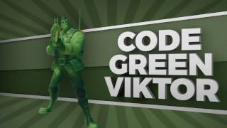Paladins - New Skin Collection for Viktor - Code Green
