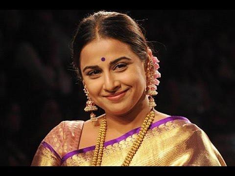 Vidya Balan I Enjoy Male Attention