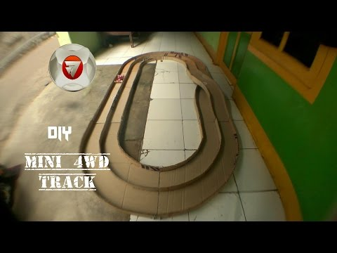 how to make a mini 4WD track easy
