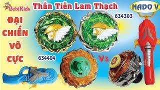 INFINITY NADO 5 - Nado V ❤️ Bộ Đôi: Thần Tiễn Lam Thạch 634303 + 634403 ❤️ Đại Chiến Vô Cực