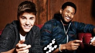 Justin Bieber & Usher: Billboard Music Awards Cover Shoot 2012