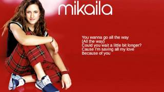 Mikaila: 11. Because of You (Lyrics)