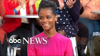 Letitia Wright inspires the next generation of superheroes