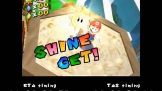 [TAS]Super Mario Sunshine Any% in 1:07:52