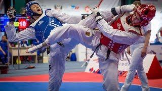 Lauren Williams (GBR) vs Sofia Cruz (POR). European Taekwondo Championships Kazan-2018