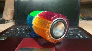 How to Make Speaker Portable From Lighter - Cara Membuat Speaker Portable Dari Korek Bekas