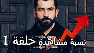 نسبة مشاهدة حلقة 1 مسلسل السلطان محمد الفاتح