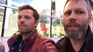 Misha Collins and Darius Marder tour the hot spots of Vegas
