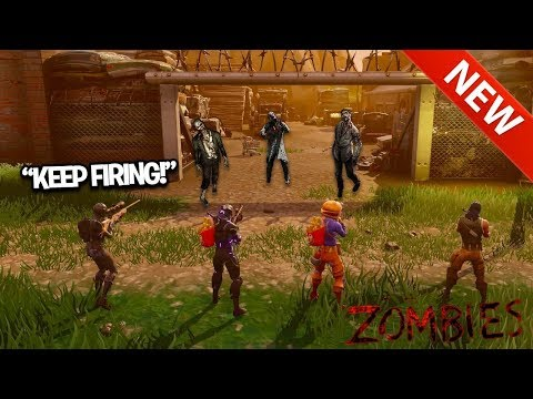 FIRST EVER Fortnite BLACK OPS ZOMBIES NEW GAMEMODE ZOMIBES IN FORTNITE Custom