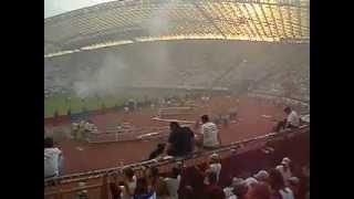 Hajduk-Varteks 6:0 proslava titule 2005