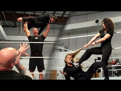 WWE Performance Center nails the
