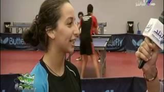 صدى الرياضة - صدى الرياضة - استعدادت أبطال تنس الطاولة في مصر للبطولات العالمية