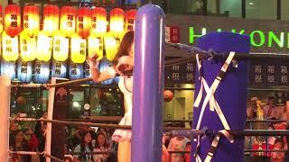 ジューケン&里歩(日本) vs EKバキ&ジプシー(タイ)プロレス(pro wrestling) 第2回 サワディカップ/Sawasdee CUP その3