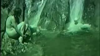 Gretl Braun bathing naked