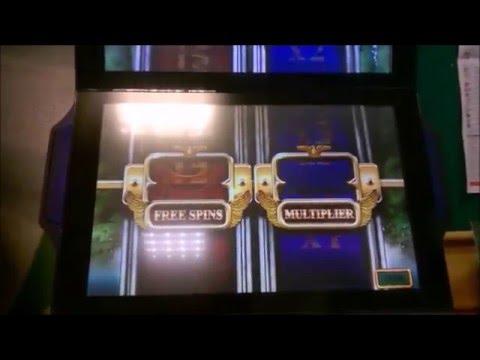 Centurion B3 £2/£500 slot - rare Caesars Free Spins decent wins.