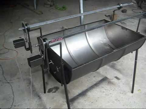 Pancho con Motor con dos asadores