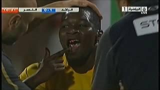 اعنف مباراة بتاريخ الدوري - مجزرة الرائد بحق النصر