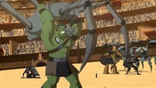 Planet Hulk: Hulk and the Warbound vs Wildebots