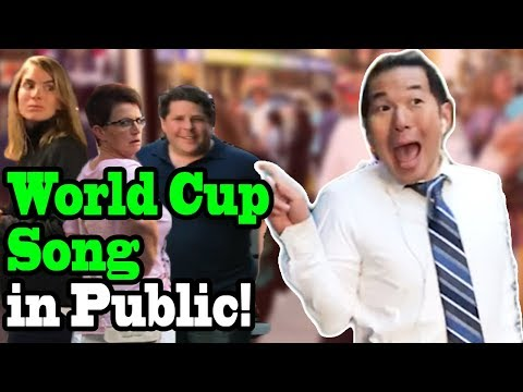 """NICKY JAM, WILL SMITH, Era Istrefi - """"Live it Up"""" (2018 World Cup Song) - SINGING IN PUBLIC!!"""