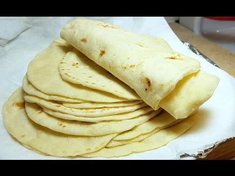 How to make Soft Flour Tortillas Como Hacer Tortillas de Harina