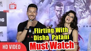 Flirting With Disha Patani | Tiger Shroff | Baaghi 2 Official Trailer